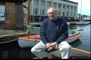 Dick Wagner at the Center for Wooden Boats