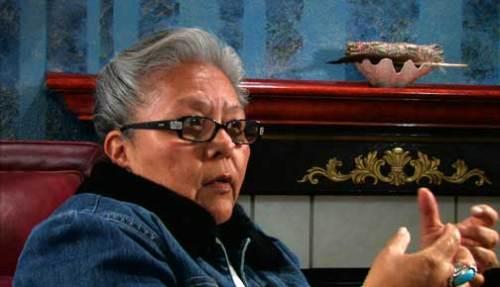 Jacqueline Swanson, descendant of Cheshiahud